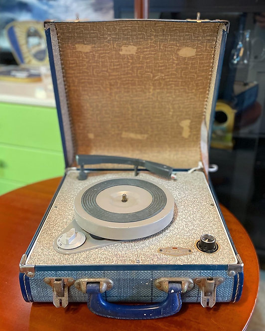 Vintage Portable Turntable manufactured by 'Aristone'