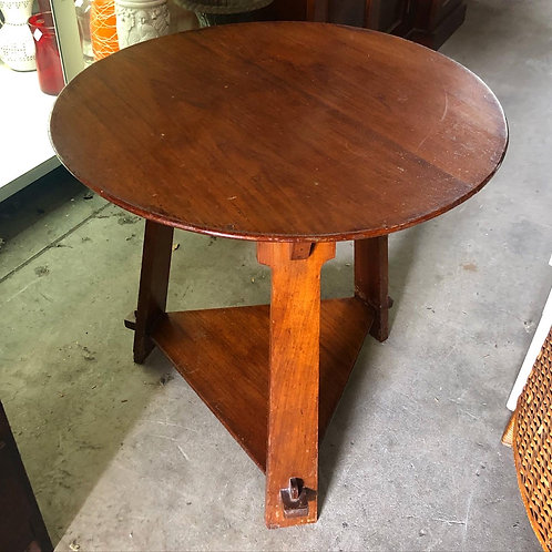 Round Edwardian Occasional Table