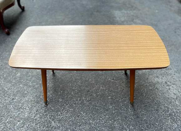 Large Rectangular Mid-Century Retro Coffee Table