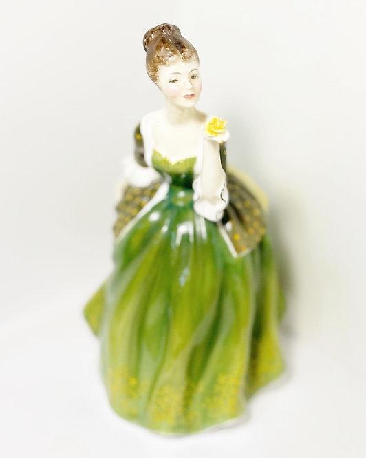 Rare Collectible 'Royal Doulton' Bone China Porcelain Figurine Fleur from C.1967