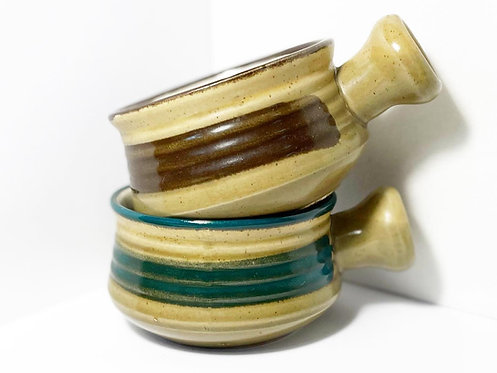 Vintage 6-piece Ceramic Soup Bowl Set from Korea