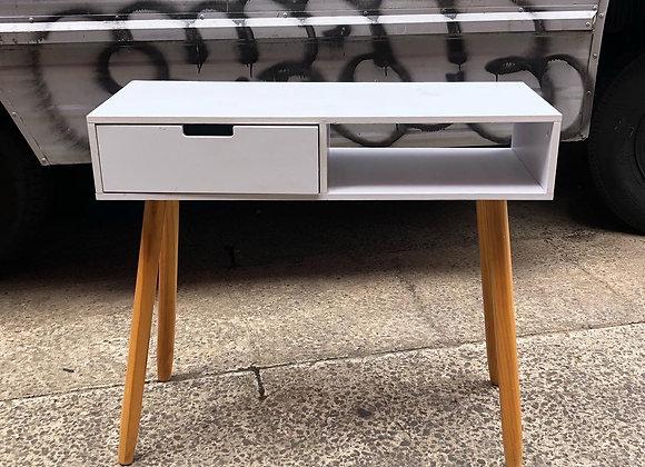 Small Light White Colour Desk in a Good Condition