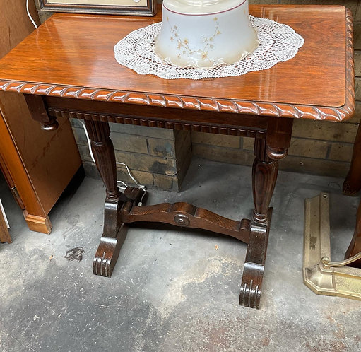 Beautiful Tudor Oak Hall Table