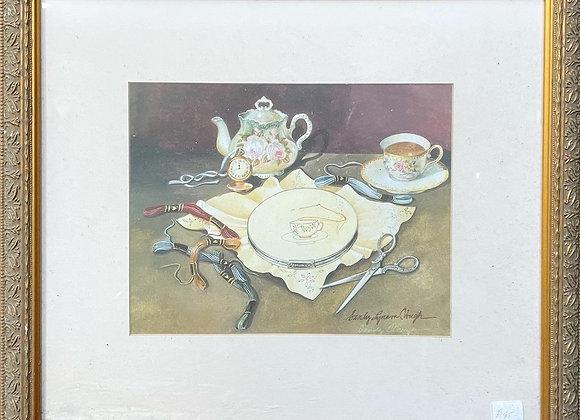 Beautiful Original Artwork Signed by Sandy L. Clough