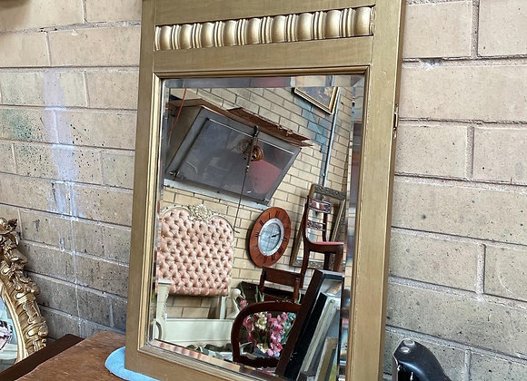 Gorgeous Antique Beveled Hanging Wall Mirror