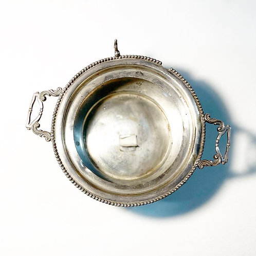 Antique 'Van Bergh Silver Co.' Quadruple Silver Plate Bowl from C.1910's (USA)