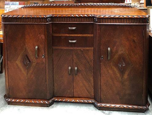 Oak Art Deco Buffet