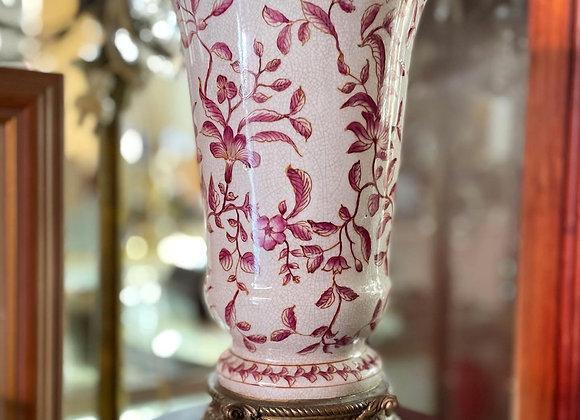Vintage Embellish AIT Australian Made Porcelain Vase with Floral Motifs