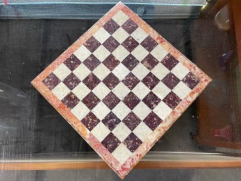 Stunning Antique Marble Chess Set