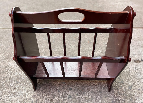 Beautiful Vintage Magazine Rack in Good Condition