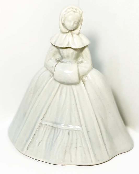 Vintage 'Marie Brizard & Roger' Woman Decanter by 'Revol' Porcelain from C.1950'