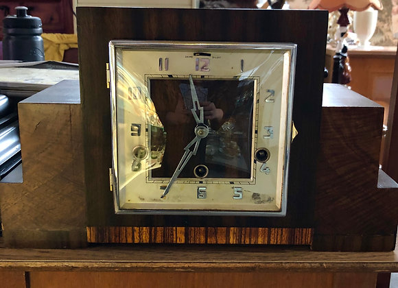 1940s Westminster Chime Art Deco Clock