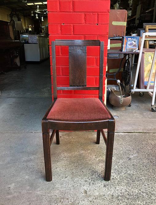 Solid Oak Desk Chair