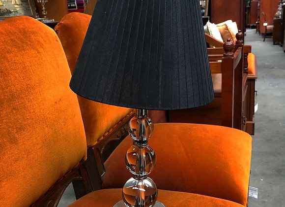 Laura Ashley Home Table Lamp with Black Shade