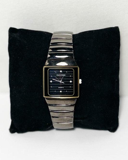 Stunning Vintage Wind Up Paco Ferri Quartz Japanese Movement Ladies Wristwatch