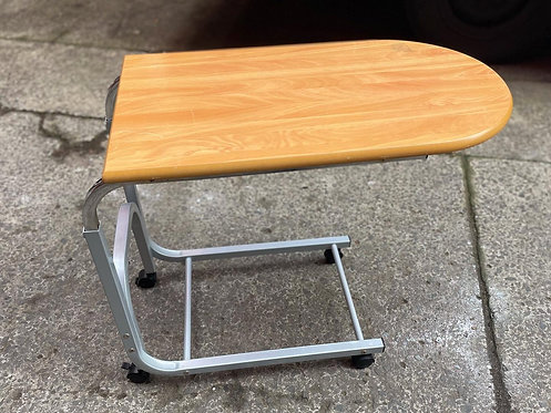 Modern Chrome Base Wooden Top Trolley in Good Condition