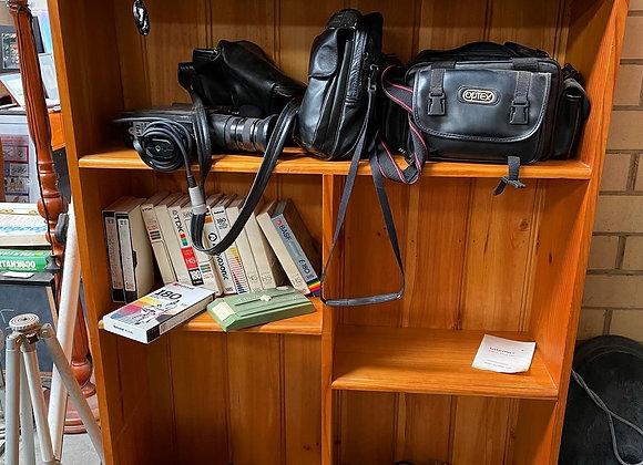 Solid Vintage Pine Bookshelf