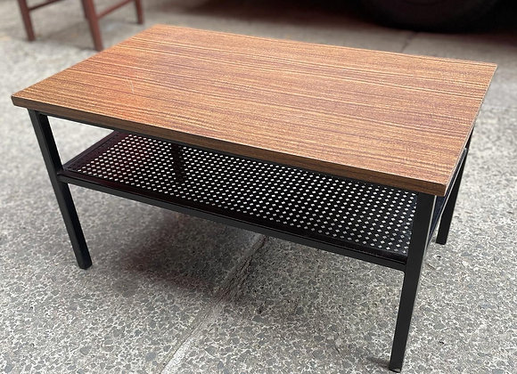 Solid Laminated Top Coffee Table in Excellent Condition