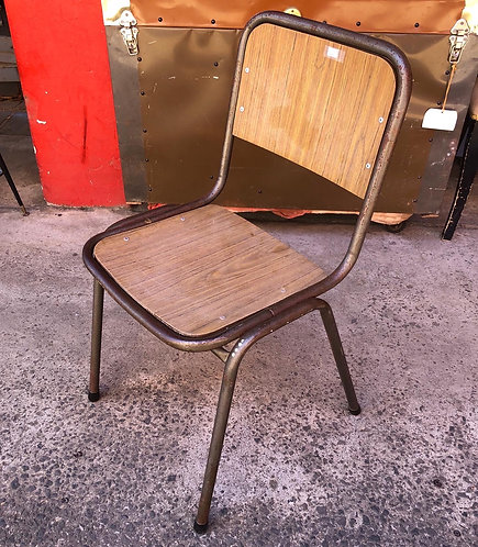 Incredibly Solid Metal Retro Chair in a Good Condition