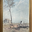 Thumbnail: Lovely Print of 'The selector's hut (Whelan on the log) by A. Streeton, 1890's (