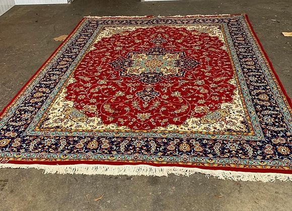 Large Size Red Colour Antique Persian Rug