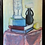 Thumbnail: Framed Oil Painting on Canvas signed by MCF