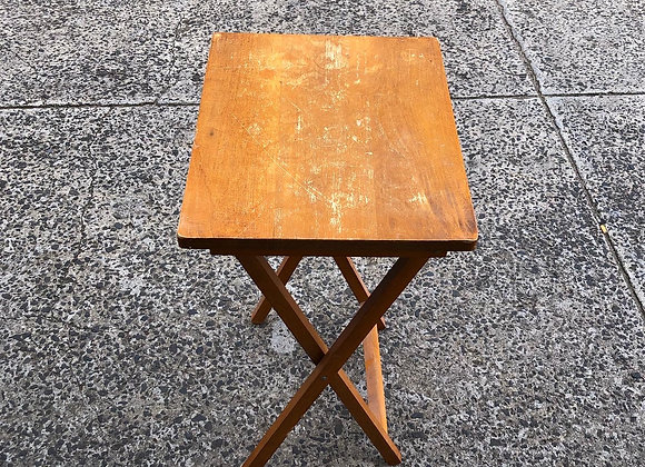 Small Retro Occasional Folding Table