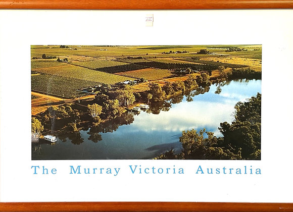 Beautiful Framed Murray River Print from VIC, Australia