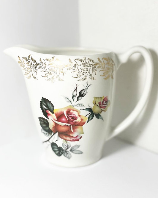 Hand-Painted Old Lord Nelson Pottery Milk Jug from C.1950s (England)