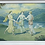 Thumbnail: Large Framed Vintage Artwork of 3 Greek Muses Dancing (Australia)
