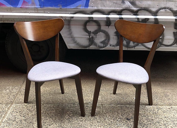 A Pair of Retro Style Occasional Chairs