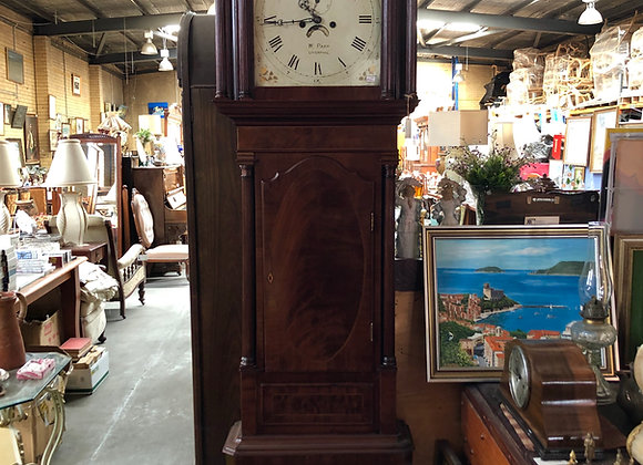 Antique Inlay W. Parr Liverpool Grandfather Clock