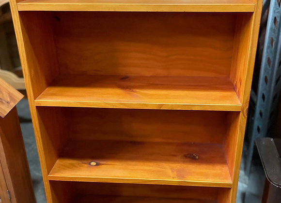Small Size Pine Bookshelf in Solid Condition