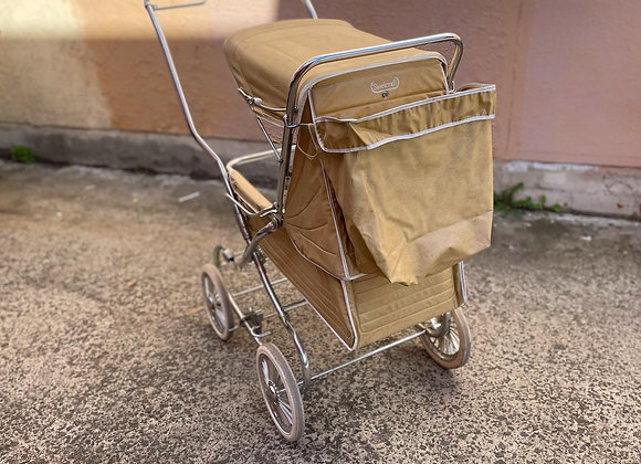 Gorgeous Vintage Beige Colour Pram manufactured by Steelcraft from C.1979-80