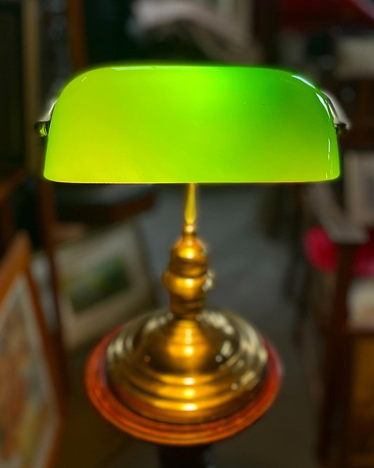 Vintage Bankers Touch Lamp manufactured by Carramar Lighting Pty Ltd (Australia)