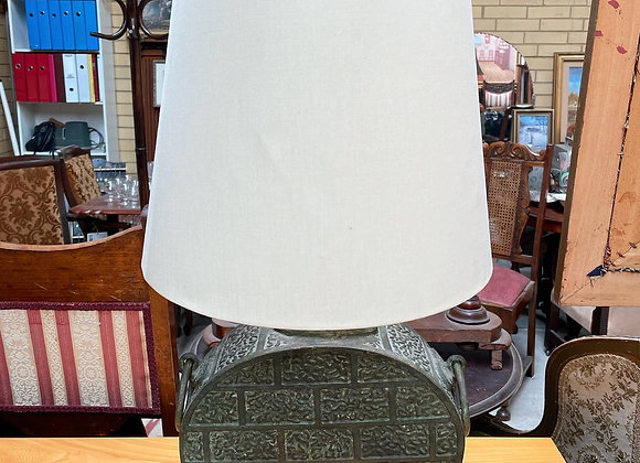 Ancient Chinese Western Zhou Dynasty Style Bronze Table Lamp