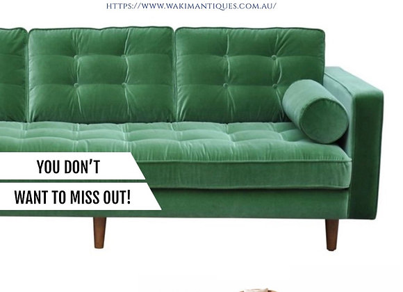 Introducing Our Limited Edition Real Leather & Velour Furniture!
