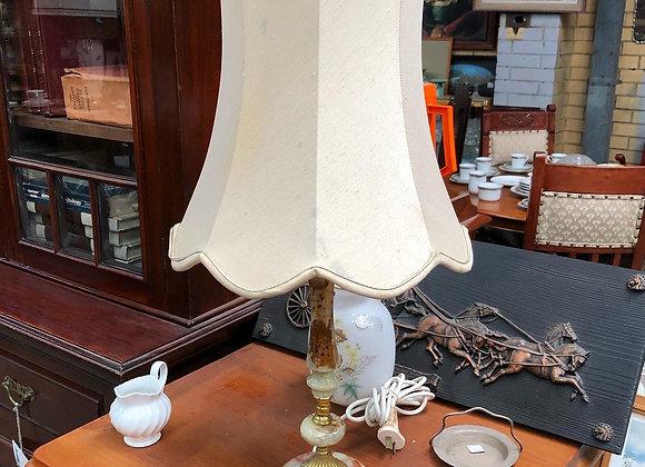 Stunning Italian Vintage Onyx Table Lamp