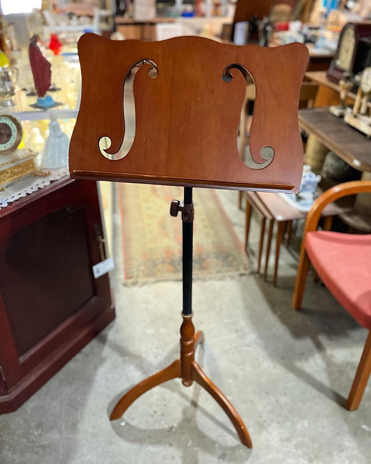 Elegant Vintage Music Sheet Stand in Good Condition