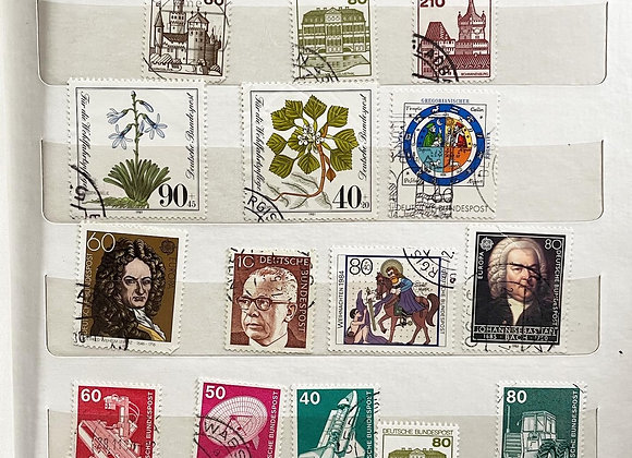 Vintage Collection of Stamps (4 Stamp Books & More)