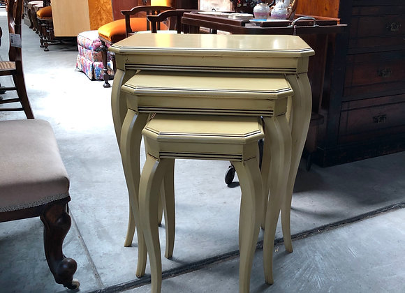 Custom Made Vintage Nest of Tables in Excellent condition