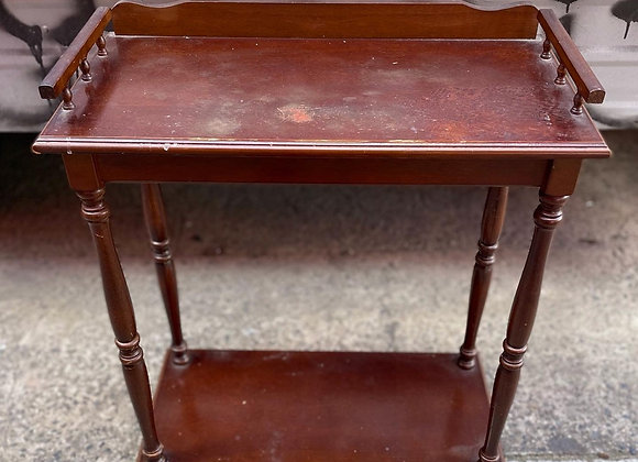 Stunning Small Rectangular Hall Table In Really Good Condition