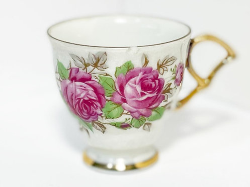 Miniature Collectible Vintage Hand-Painted Cup (Japan)
