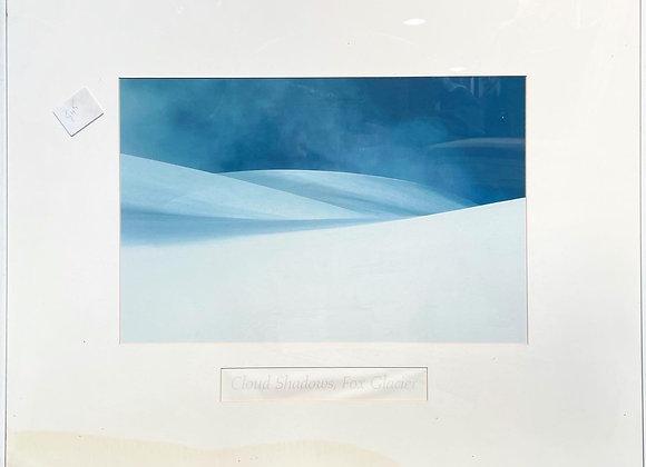 A Stunning Framed Print of Cloud Shadows, Fox Glacier
