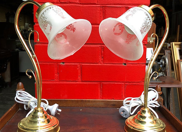 A Pair of Small Vintage Table Lamps