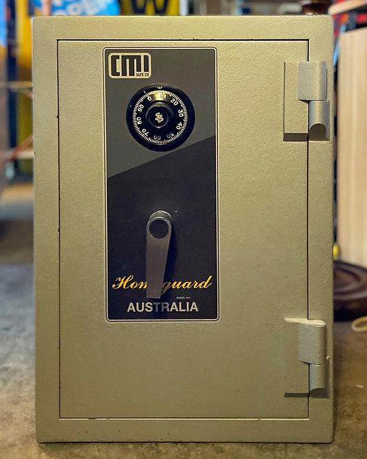 Vintage Domestic Security Safe by CMI Safe Co Homeguard Model HG1 (Australia)