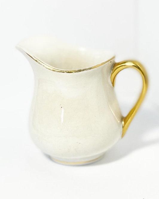 Delicate Antique 'Devon Ware Fieldings' Porcelain Creamer from C.1917-30's (Engl