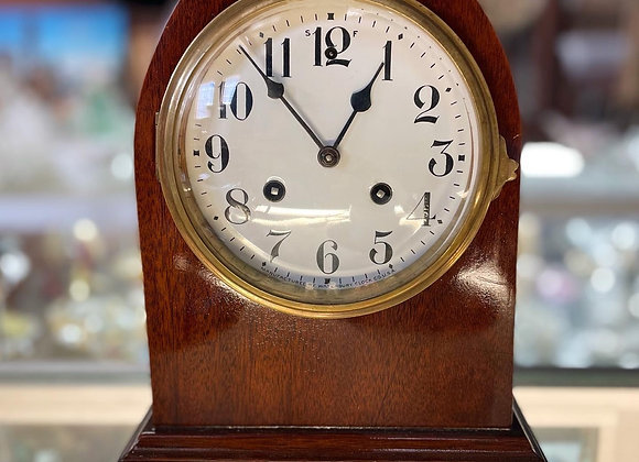 Art Deco Mantle Clock by Dunklings the Jewellers, Melbourne