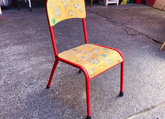 Solid Vintage Chair