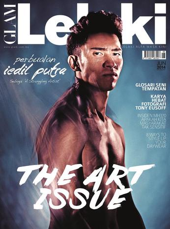 Glam Lelaki Cover 2014